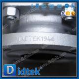 Gas de la vávula de bola de flotación de Didtek Wcb 150lb con el manual