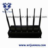 6強力なアンテナが付いている3G/4G高い発電の携帯電話の妨害機(4G LTE + 4G Wimax)