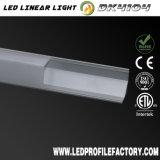 Perfil de aluminio de la protuberancia del difusor del canal de cinta de Dk4104 LED