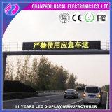P10 Display de LED de cor amarela / sinal de mudança de LED ao ar livre