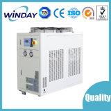 Refrigerador de refrigeração ar do sistema refrigerando para o empacotamento de leite