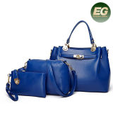 新しいデザイン袋は中国の製造者Sy8648からの女性のLuxueryのハンドバッグの女性ハンド・バッグをセットしたShopping