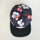 Schwarze kundenspezifische Stickerei-Partei-Hut-Hysteresen-Hüte des Firmenzeichen-Polyester-3D