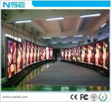 P5mmの屋内フルカラーの最大iPhoneの形LEDの企業の広告の表示