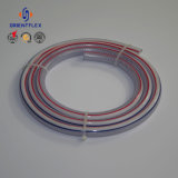 Boyau tressé de pipe de fibre colorée de PVC
