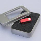 Металла шарнирного соединения золота диск USB миниого внезапный (YT-3204)