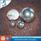Haut Soild miniature métal poli bille en acier inoxydable