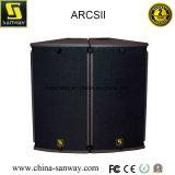 Arcsii 15inch 2wegzeile Reihen-Lautsprecher mit konstantem Biegung-Entwurf