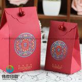 Bolsa de papel de empaquetado del regalo del caramelo de Cutomize del fabricante por Año Nuevo
