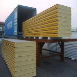 14-50kg/M3 조밀도 Polystyrene/EPS/Polyurethane /PU 샌드위치 위원회