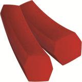 Surtidor rojo de la correa del poliuretano V de la transmisión del uretano