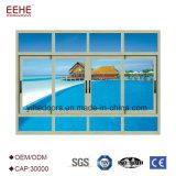 Meilleur Prix de vitre coulissante de Philippines sur les ventes d'alliage en aluminium Windows