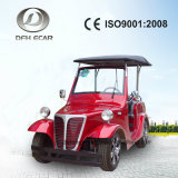 4 Sitzlangsamer besichtigenautobatterie-elektrischer Karren-Golf-Buggy