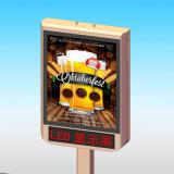 Quadro de avisos-Rolamento de giro acima dos sinais de giro da Sinal-Propaganda dos Multi-Retratos da placa
