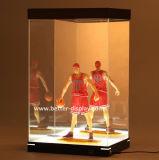 Lumière faite sur commande de cadre de chaussure de l'acrylique DEL