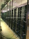 매우 호리호리한 실내 휴대용 위원회 움직일 수 있는 LED 스크린 전시 P3, P4, P5, P6, P7.62, P10