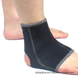 Funda de soporte del tobillo del neopreno de la prevención de lesión del soporte sola