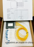 Wdm Pon 8CH CWDM van de Apparatuur van Gpon van de Telecommunicatie van de vezel Optische