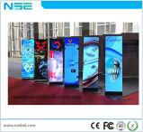 Лампа свободного постоянного P3мм для использования внутри помещений LED плакат для выставок