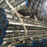 Tubulação de água galvanizada mergulhada quente do aço suave de BS1387 Dn15-Dn200