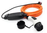 Batería de coche eléctrico automático, Coche eléctrico tipo de cable 1 Mennekes IEC 62196 de 16 a 5 metros de la estación de carga de la UE/UK/Au Plug