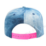 Изготовленный на заказ Snapback ягнится бейсбольная кепка джинсыов джинсовой ткани энзима шлема лета
