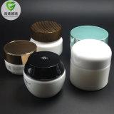 ハイエンド化粧品のための白い磁器の小型20gクリーム色の瓶