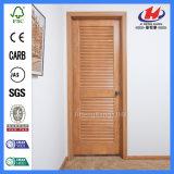 Auvent de bois dur avec des obturateurs de Chambre d'abat-jour à l'intérieur de la porte en verre
