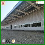 La luz de almacén estructura prefabricada de acero