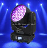 19 свет сигнала СИД луча 12W RGBW Moving головной