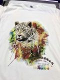 T-shirt et imprimante à plat de vente chauds de parties de coton