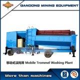 Trommel de lavagem do ouro aluvial do equipamento de mineração do ouro da alta qualidade