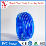 Hot Sale le PVC souple en plastique renforcé de l'eau claire les flexibles de jardin
