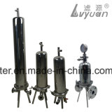 5 10 20 custodia di filtro pieghettata pollice dell'acciaio inossidabile della cartuccia ss 304 316L
