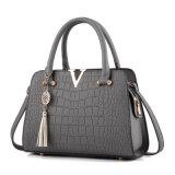 2017 doet de Nieuwe Schouder een Paar van Europa en de Handtas van de Dames van het Patroon van de Krokodil van de Handtassen van de Manier Pu van Verenigde Staten In het groot in zakken