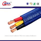 Кабель высокого качества круглый или плоский медный Submarine кабеля погружающийся насоса кабеля погружающийся