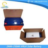 Batteria al piombo gelificata/solare profondo del ciclo 24 ah