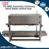 Bande continue d'étanchéité automatique type vertical pour les sacs en plastique (FR-900C)