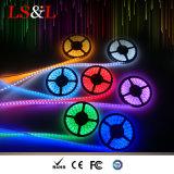 Lumière imperméable à l'eau de corde de RGBW Ledstrip pour l'éclairage de décoration