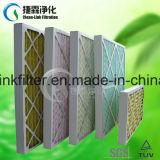 Karton-/Papprahmen gefalteter Panel-Luftfilter