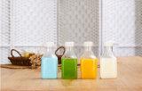 De Plastic Fles van de Melk van de Soja van het Duidelijke en Nieuwe Product 250ml van de Rang van het voedsel voor de Verpakking van het Plastiek dat van het Sap van de Melk In het groot het Drinken Kruik drinkt