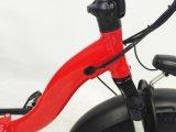 접히는 전기 뚱뚱한 타이어 자전거 20inch