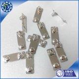Precisione del metallo dell'OEM di abitudine mini che timbra il contatto elettrico della batteria della molla della parte