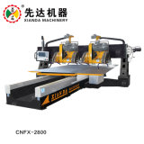 Cnc-Steinausschnitt-Maschine für quadratische Baluster-und Dekoration-Zeile