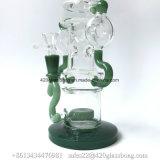 Wundervoller Recycler-Glaswasser-Pfeife-verschiedene Entwürfe