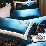 快適な王4PCSは濃紺の寝具を選抜する