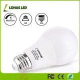 La luz blanca E26 E27 7W Bombilla LED 9W de potencia de luz