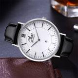 ステンレス鋼の防水リスト・ストラップの方法スポーツの水晶人の腕時計