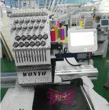 Únicos projetos computarizados de Tajima da máquina do bordado das cores da cabeça 15 para a máquina Wy1501c do bordado do tampão