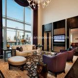 Il sofà di legno del salone dell'ingresso del sofà dell'hotel ha impostato per la vendita